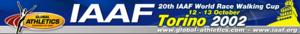 2002 IAAF World Race Walking Cup - Image: Wrc 2002 logo
