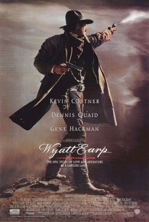 <i>Wyatt Earp</i> (film) 1994 film starring Kevin Costner directed by Lawrence Kasdan