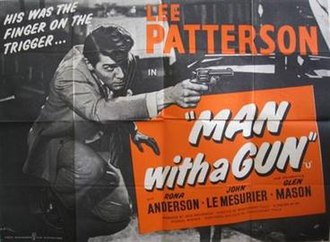 Man with a Gun - Original British quad poster