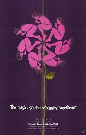 The Magic Garden of Stanley Sweetheart - Official release poster, 1970