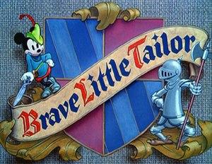 Brave Little Tailor - Title card
