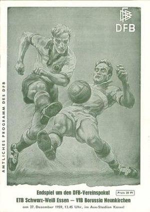 1959 DFB-Pokal Final - Image: 1959 DFB Pokal Final programme