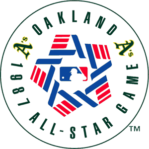 1987 Major League Baseball All-Star Game - Image: 1987 Major League Baseball All Star Game logo