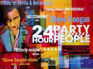 <i>24 Hour Party People</i> 2002 film by Michael Winterbottom