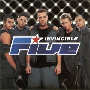 Invincible (Five album) - Image: 5ive Invincible