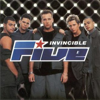 Invincible (Five album) - Image: 5ive Invincible