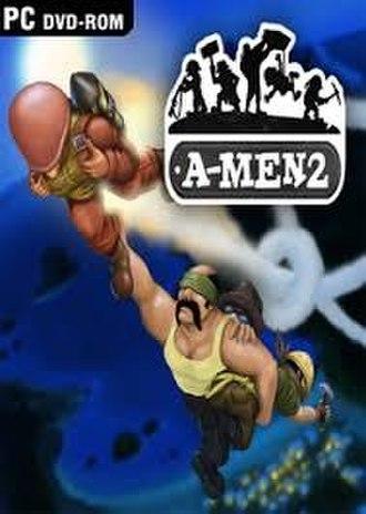 A-Men 2 - Image: A Men 2 cover art