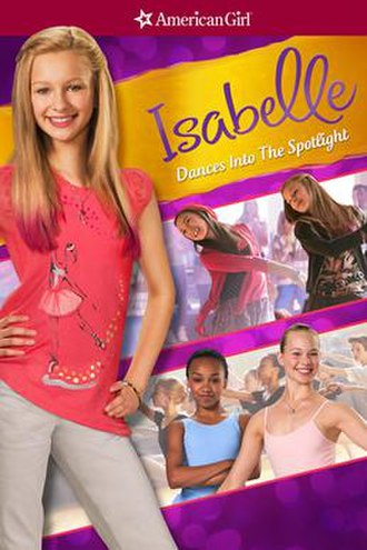 An American Girl: Isabelle Dances Into the Spotlight - Cover art for the film.