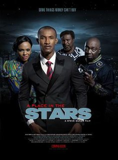 <i>A Place in the Stars</i> 2014 Nigerian thriller film