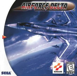 Airforce Delta - North American Dreamcast cover art