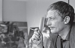 Alejandro Obregón - Photograph by Guillermo Angulo.