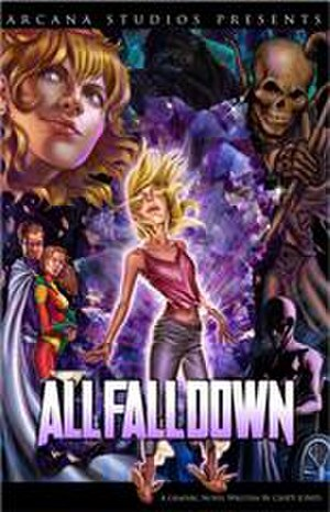 All Fall Down (comics) - Cover of All Fall Down