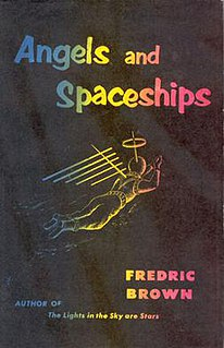 <i>Angels and Spaceships</i> book by Fredric Brown