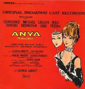 Anya (musical) - Image: Anya LP