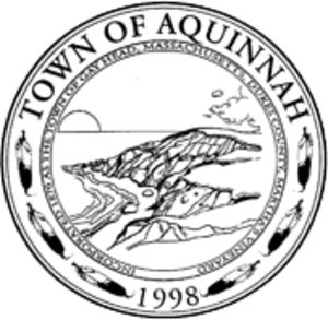 Aquinnah, Massachusetts - Image: Aquinnah Seal 1998