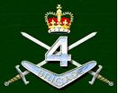 Australian 4th brigade formation graphic