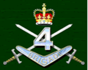 4th Brigade (Australia) - Image: Australian 4th brigade formation graphic