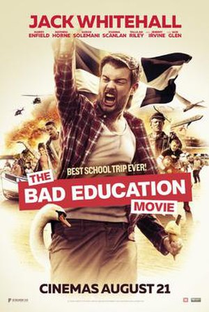 The Bad Education Movie - Theatrical release poster