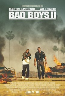 <i>Bad Boys II</i> 2003 American action comedy film directed by Michael Bay