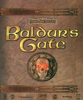 <i>Baldurs Gate</i> fantasy role-playing video game