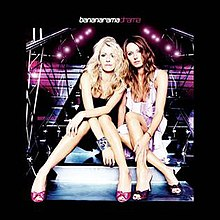Bananarama: Sara Dallin and Keren Woodward on the cover of their 2005 album Drama.