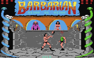 Barbarian: The Ultimate Warrior - Barbarian features gory combat for the sake of rescuing a bikini-wearing princess.