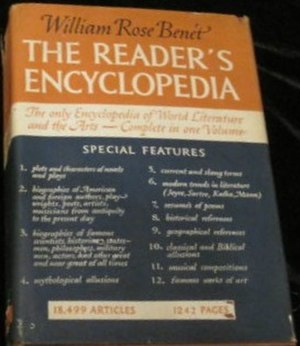 Benet's Reader's Encyclopedia - First edition