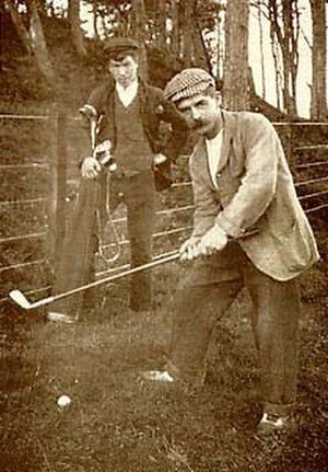 Ben Sayers - Ben Sayers playing at North Berwick