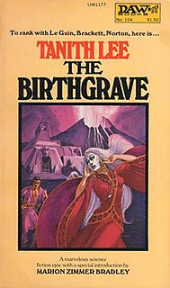 <i>The Birthgrave</i> 1975 Book by Tanith Lee