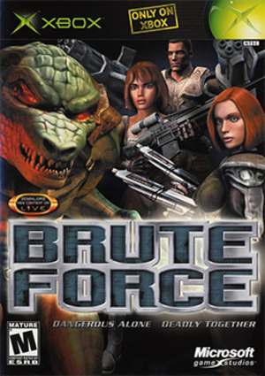Brute Force (video game) - Image: Brute Force Coverart