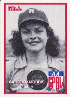 Carolyn Morris American baseball player