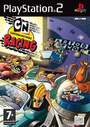 Cartoon Network Racing - PlayStation 2 version cover art