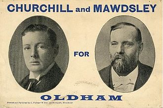 1899 Oldham by-election - Image: Churchill & Mawdsley