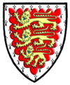 Coat of Arms of King's Hall, Cambridge.png