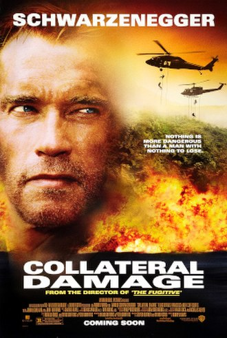 Collateral Damage (film) - Theatrical release poster