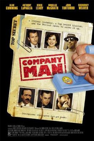 Company Man (film) - Theatrical release poster