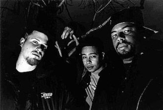 Company Flow - (left to right) El-P, Bigg Jus and Mr. Len