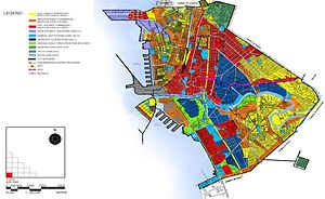 Geography of Manila - Image: Comprehensive Land Use Plan of the City of Manila