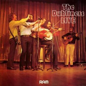 Live (The Dubliners album) - Image: Cover live