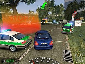 Crash Time: Autobahn Pursuit - Image: Crash time screen