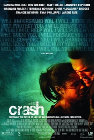 Crash (2004 film) - Theatrical release poster