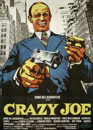 Crazy Joe (film) - Image: Crazy Joe (film)