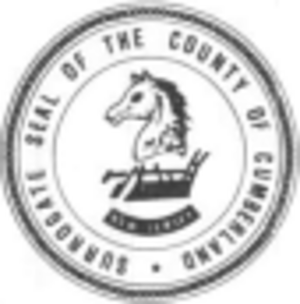 Cumberland County, New Jersey - Image: Cumb Seal