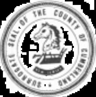 Cumberland County, New Jersey - Image: Cumb Seal