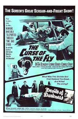 Curse of the Fly - 1965 theatrical poster