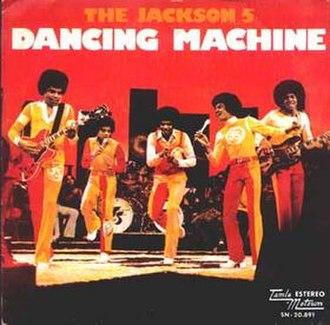 Dancing Machine - Image: Dancingmachine 1974