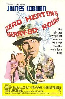 <i>Dead Heat on a Merry-Go-Round</i> 1966 crime film directed by Bernard Girard