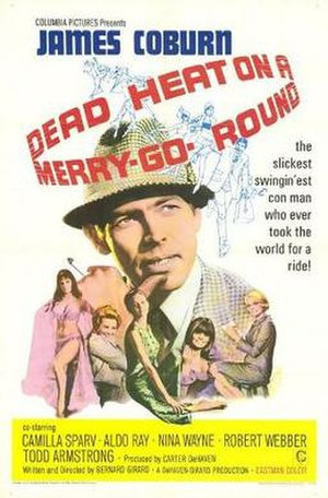Dead Heat on a Merry-Go-Round - Theatrical film poster