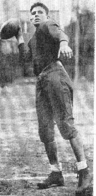 Decatur High School (Georgia) - 1920 football player