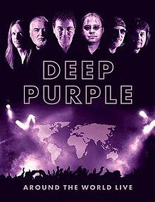 Deep Purple - Around The World Live DVD